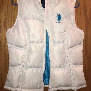 Polo white vest